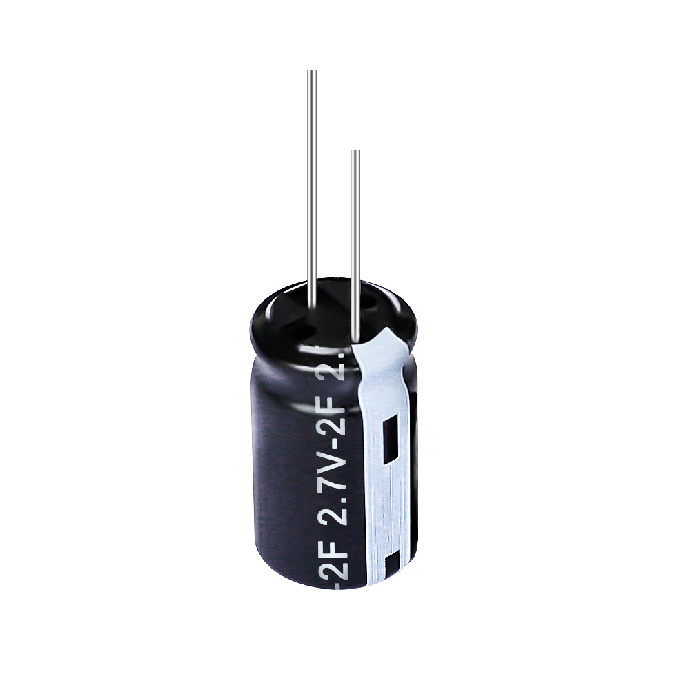 2.7V Radial Lead Type Supercapacitor