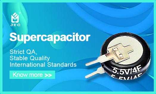 Application Areas of Super Capacitors